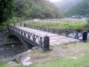 日本最古の鋳鉄橋 神子畑鋳鉄橋
